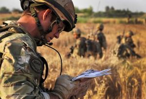 La orientación es una de las misiones fundamentales que un TL debe ofrecer al grupo. Pictures By: PO (PHOT) Hamish Burke