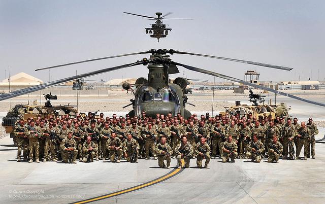 Unidad de reconocimiento del 30 Commando desplegada en Afghanistan ©  Pictures By: PO (PHOT) Hamish Burke