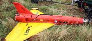Simulador de un avión dirigido que actúa como señuelo