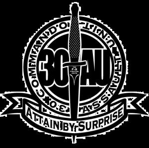 Emblema del 30 Commando durante la II GM