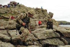 La instrucción técnica de la escalada es uno de los puntos esenciales del curso de Mountain Leader de los RMC