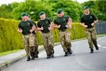Royal Marines en carrera