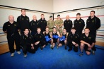 30 Commando's Boxing Team at Royal Marines Stonehouse, Plymouth. Image taken by POA(Phot) Dave Gallagher