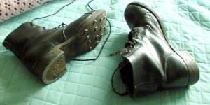 El ruido de los clavos en las botas siempre recuerdan a las sandalias romanas