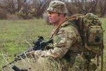 Integrante del 30 Comando Madrid durante la misión