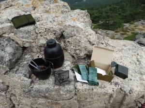 La composición del desayuno del combate del Ejército español es realmente útil para operaciones de este tipo. Foto: @ 30 Commando Madrid.