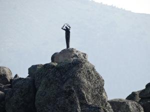 Majestuosa, la Virgen de las Nieves aparece en todo su esplendor. Foto: @ 30 Commando Madrid