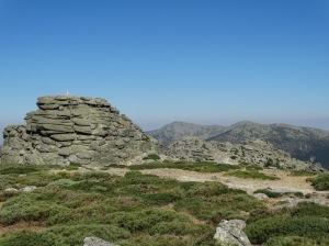 Los puntos geodésicos marcan todo el recorrido de la cuerda de los 7 picos. Foto: @ 30 Commando Madrid