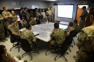 El 30 Commando desarrolló operaciones de obtención de inteligencia y asesoramiento en el HQ británico.