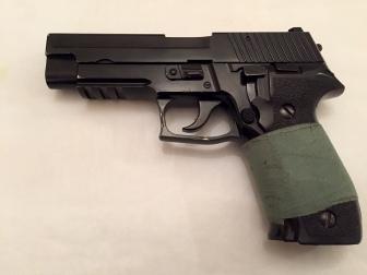 Su parecido al arma real es asombroso