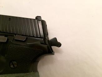 La segunda de la posiciones permite un disparo claro y contundente